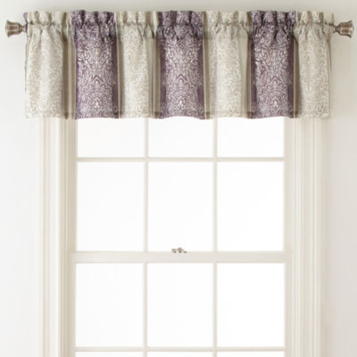 Home Expressions™ Nadine Rod-Pocket Lined Valance