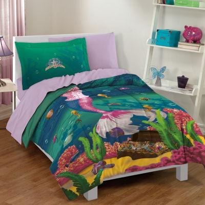 Dream Big Sea Princess 2-pc. Twin Comforter Set