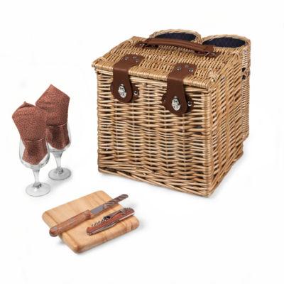 Picnic Time® Vino Picnic Basket - Adeline Collection