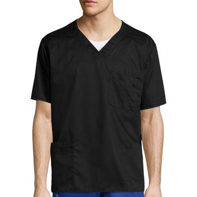 WonderWink® Short-Sleeve V-Neck Top - Big & Tall