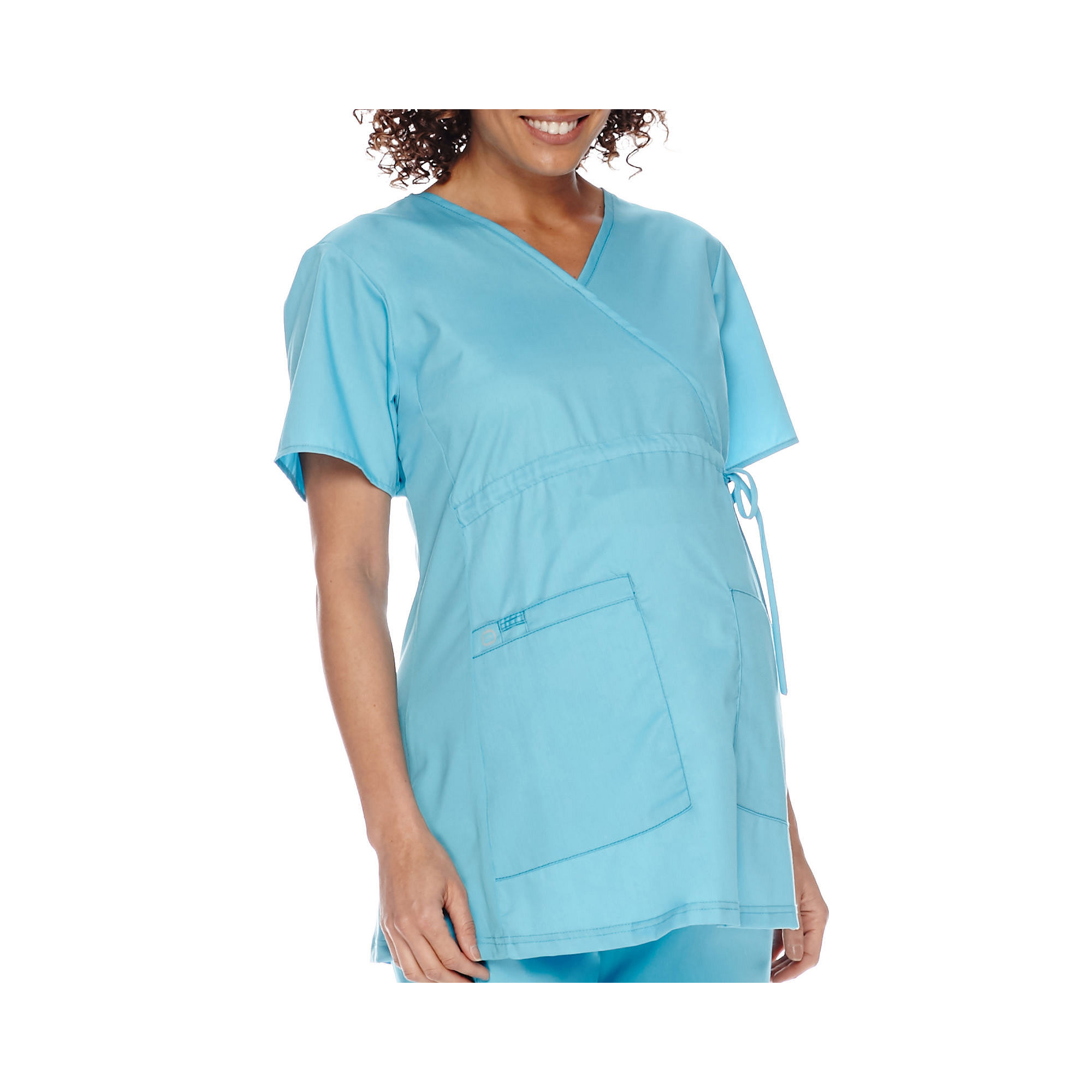 WonderWink Womens Short-Sleeve Maternity Top - Plus plus size,  plus size fashion plus size appare