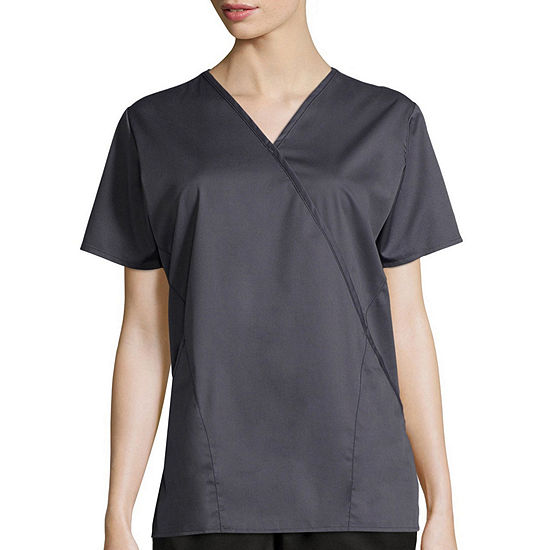 adb434e84d7 WonderWink® WonderWORK 102 Women s Mock Wrap Top - Plus - JCPenney