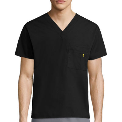 WonderWink® Alpha Unisex Short-Sleeve V-Neck Top - Big & Tall