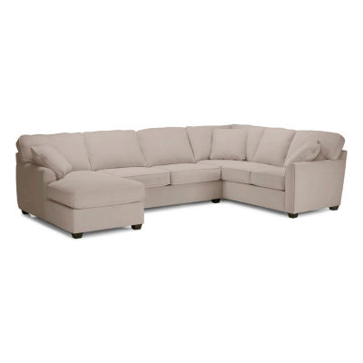 Fabric Possibilities Sharkfin 3-Pc Left Arm Chaise Sectional