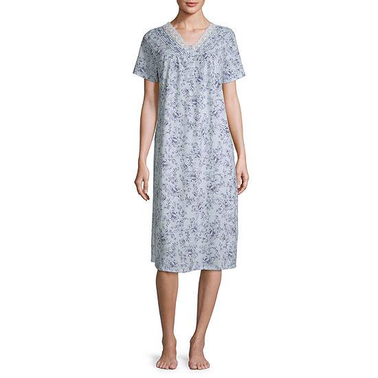 Adonna Womens Nightgown V Neck