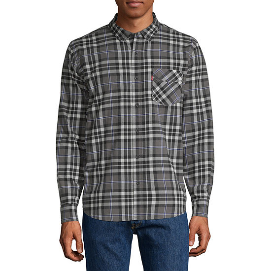 Levis Long Sleeve Button Down Shirt