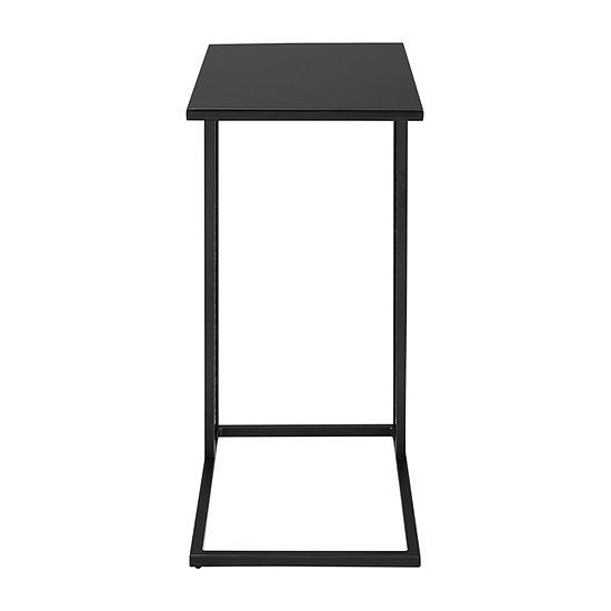 Modern Industrial Metal Side C-Table