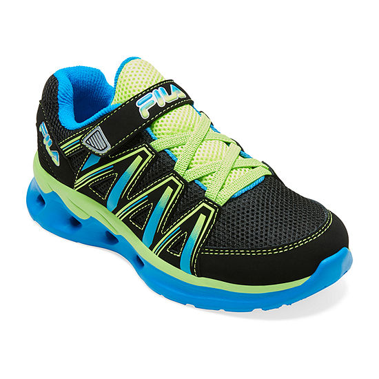 Fila Crater 8 Boys Hook and Loop Running Shoes