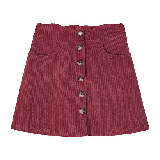 by&by girl Girls Mid Rise A-Line Skirt - Big Kid
