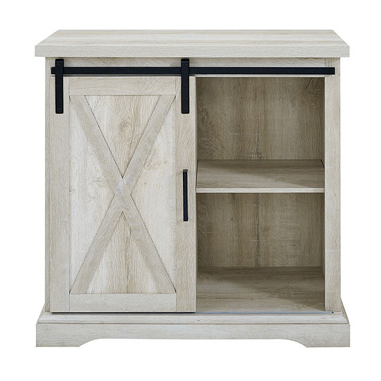Rustic Farmhouse Buffet Storage Cabinet