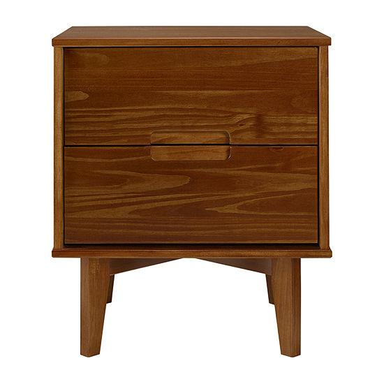 Walker Edison Modern Wood Nightstand