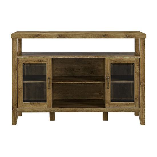 """Rustic 52"""" Wood TV Stand"""