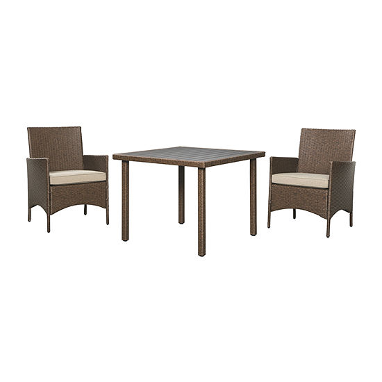 Outdoor By Ashley Reedenhurst 3-pc. Patio Dining Set
