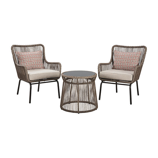 Outdoor By Ashley Cotton Road 3-pc. Patio Dining Set