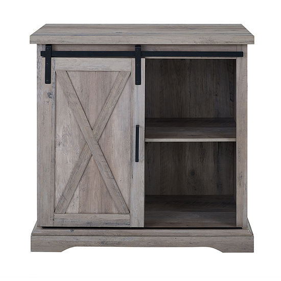 Rustic Farmhouse Buffet Storage Cabinet