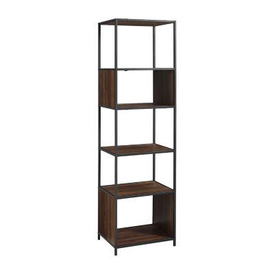 Walker Edison Industrial Bookcase
