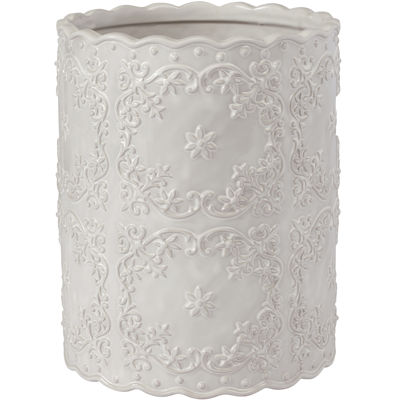 Creative Bath™ Ruffles Wastebasket