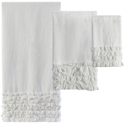 Creative Bath™ Ruffles Bath Towels