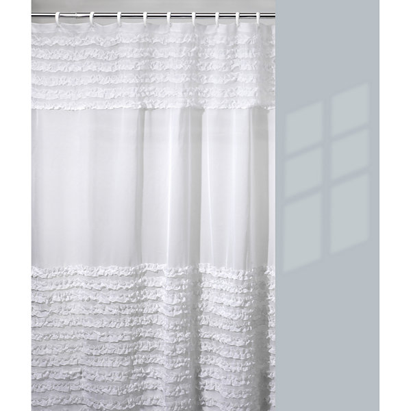 Bath™ Ruffles Shower Curtain
