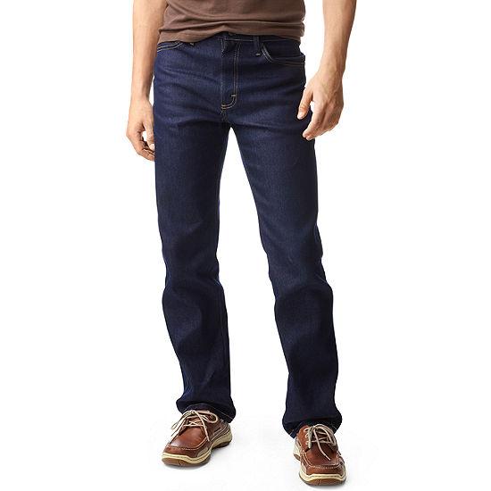 Lee® Regular-Fit Straight-Leg Stretch Jeans
