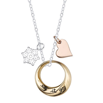 "Disney Frozen ""Let it Go"" Pendant Necklace"