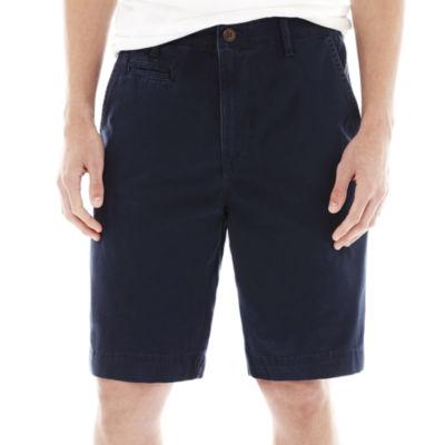 Arizona Flat-Front Shorts