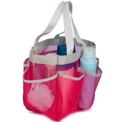 Honey-Can-Do® 7-Pocket Quick Dry Shower Tote