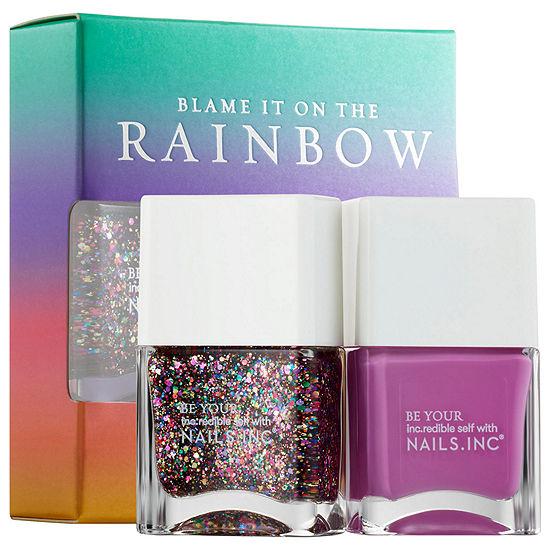 NAILS INC. Blame It On The Rainbow Nail Polish Duo