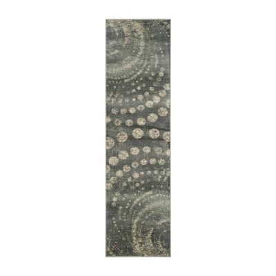 Safavieh Constellation Vintage Collection Isidor Dots Runner Rug