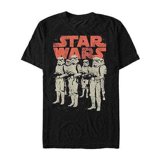 "Storm Trooper Group Shot					"" Mens Crew Neck Short Sleeve Star Wars Graphic T-Shirt"