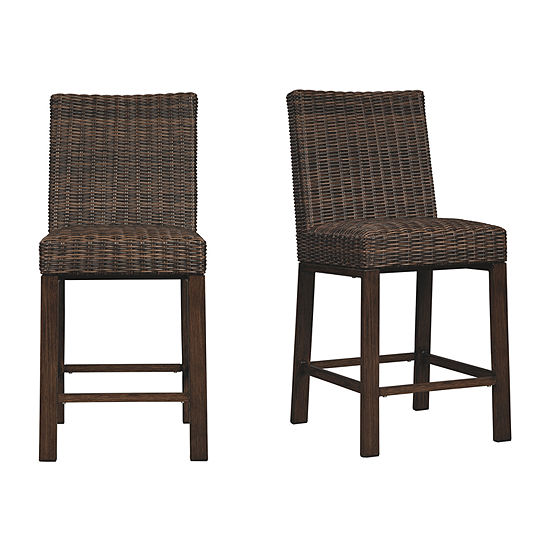 Outdoor By Ashley Paradise Trail 2-pc. Patio Bar Stool