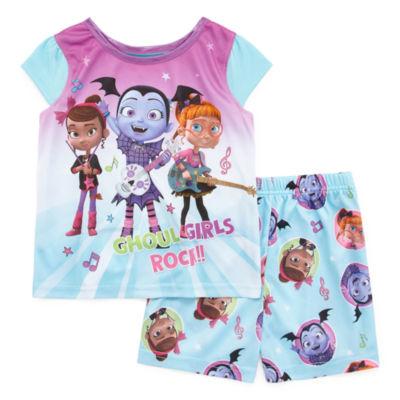 2-pc. Vampirina Shorts Pajama Set Toddler Girls