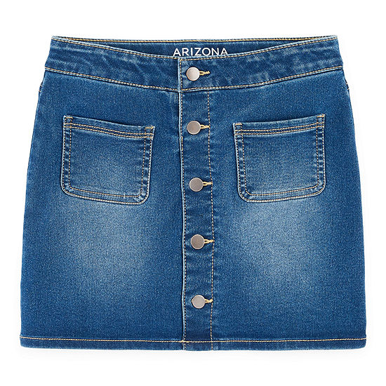 Arizona Girls Midi Denim Skirt Preschool / Big Kid