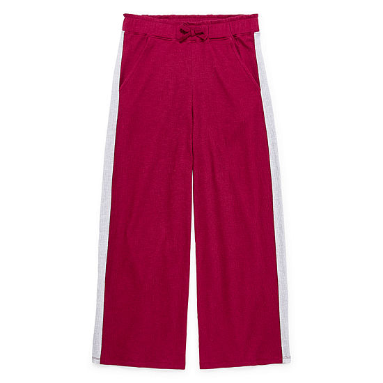 Arizona Girls Wide Leg Pull-On Pants - Preschool / Big Kid