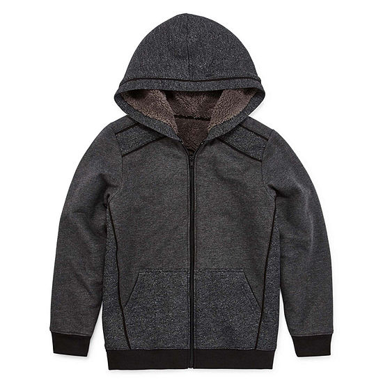 Arizona Little & Big Boys Fleece Hooded Midweight Jacket
