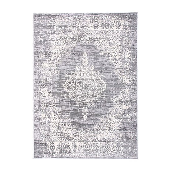 World Rug Gallery Vintage Distressed Traditional Rectangular Indoor Rugs