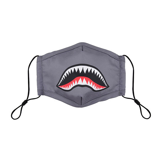 Land Of Liberty Shark Kids Unisex Face Mask