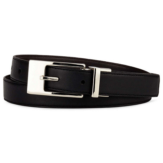 Liz Claiborne® Belt with Metal Buckle