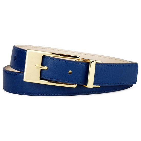 Liz Claiborne® Belt with Metal Buckle