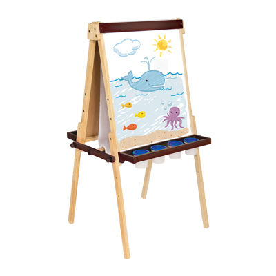 Wooden Floor Easel