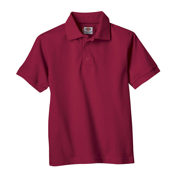Dickies® Boys Short Sleeve Pique Polo- Preschool