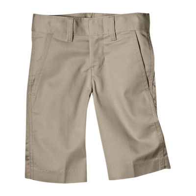 Dickies® Boys Classic Fit Flex Waist Flat Front Short- Big Kid
