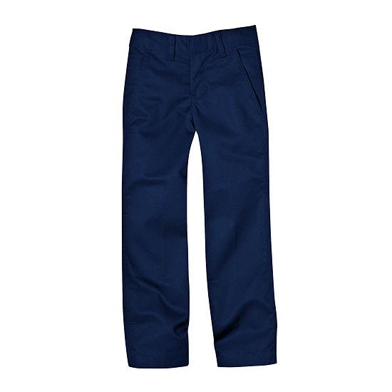 Dickies® Dickies Boys Flex Waist Flat Front Pant- Big Kid & Husky