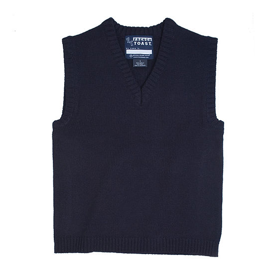 French Toast® V-Neck Sweater Vest - Boys 8-20 and Husky