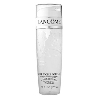 Lancome Eau Frache Douceur Micellar Cleansing Water Face Eyes Lips