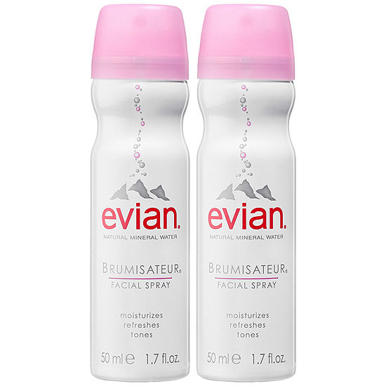 Evian Mineral Water Spray Duo To Go