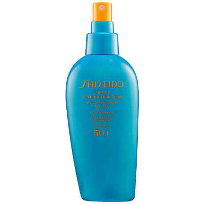 Shiseido Ultimate Sun Protection Spray Broad Spectrum SPF 50+ For Face/Body