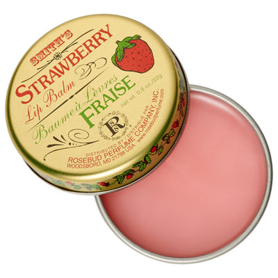 Rosebud Perfume Co. Strawberry Lip Balm