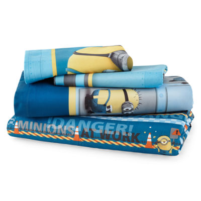 Despicable Me Industrial Minions Sheet Set