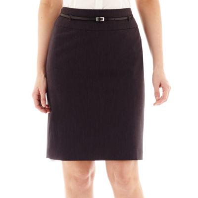 Liz Claiborne® Belted Pencil Skirt